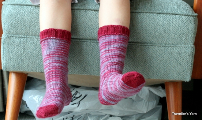Younger daughter socks