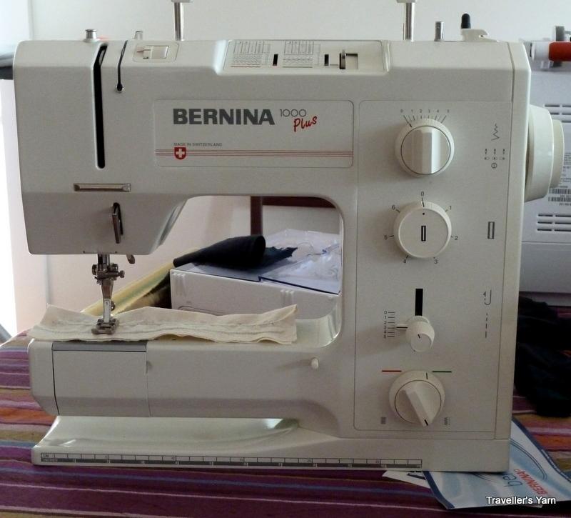 Bernina 40 Plus Traveller's Yarn Beauteous Bernina 1000 Special Sewing Machine